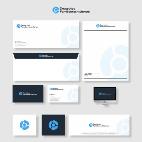 Corporate Design + Logo Re-Launch Deutsches Familienrechtsforum