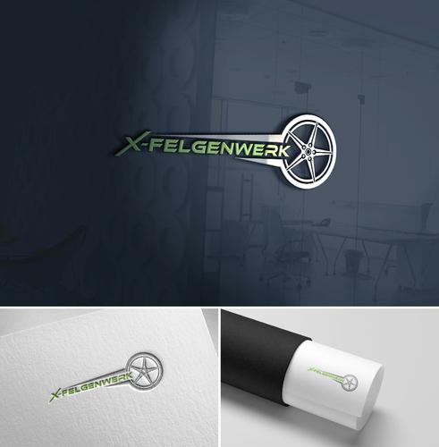 Logo-Design für Felgenreparatur