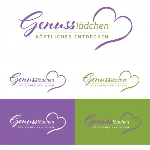 Logo-Design für Einzelhandel mit genussvollen Lebensmitteln