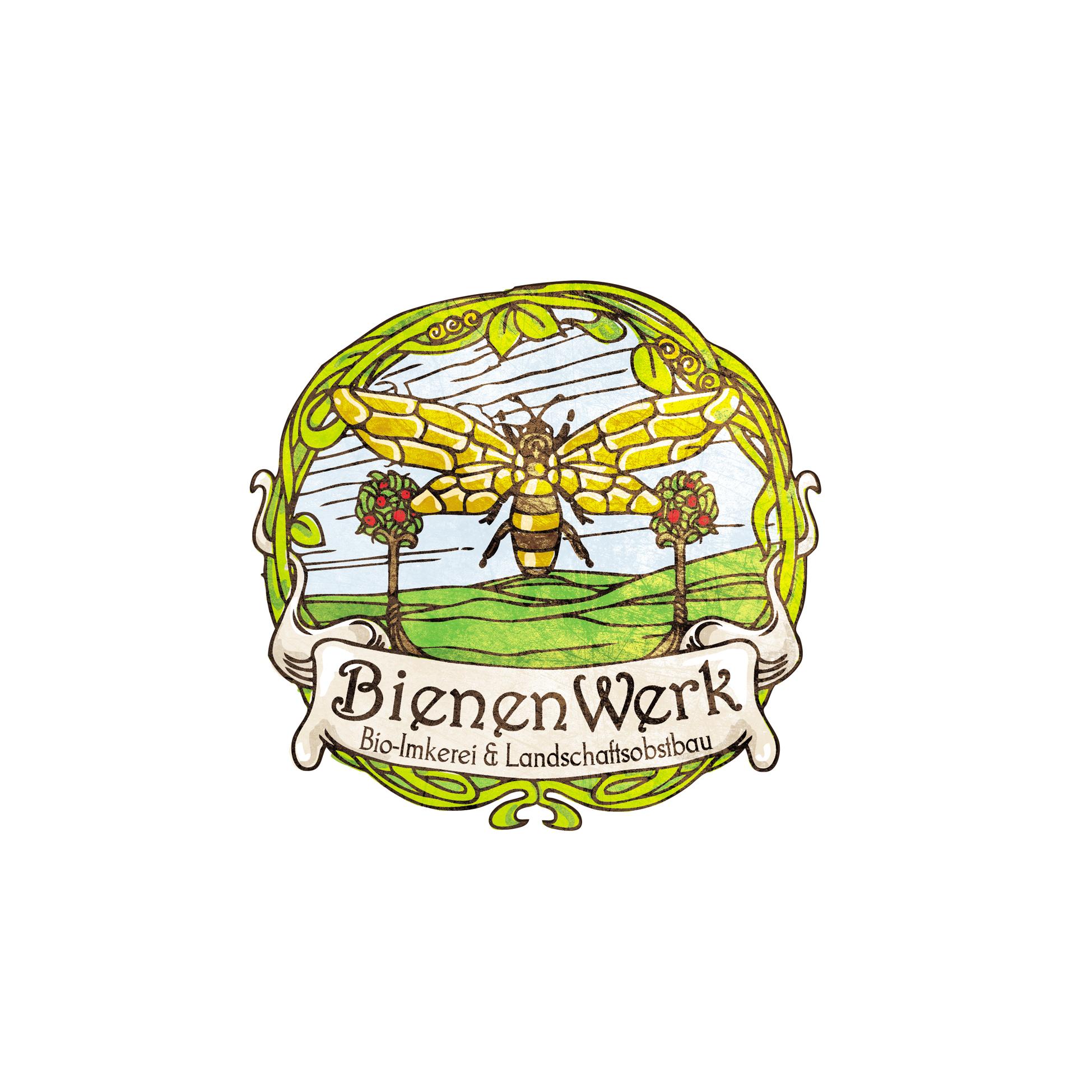 Logo-Design für eine Imkerei mit Landschaftsobstbau gesucht