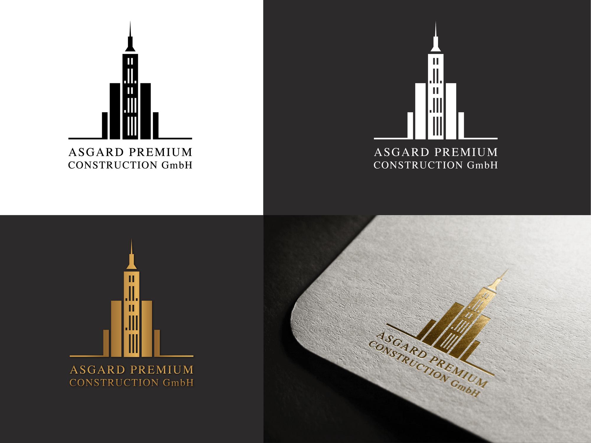 logo design f r exklusives wohnungs und h userb logo design. Black Bedroom Furniture Sets. Home Design Ideas