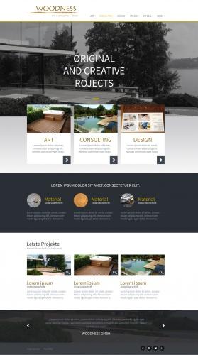 Woodness Website
