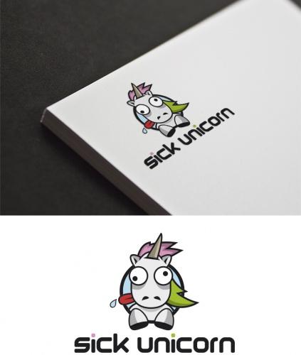 Sick Unicorn braucht ein Logo