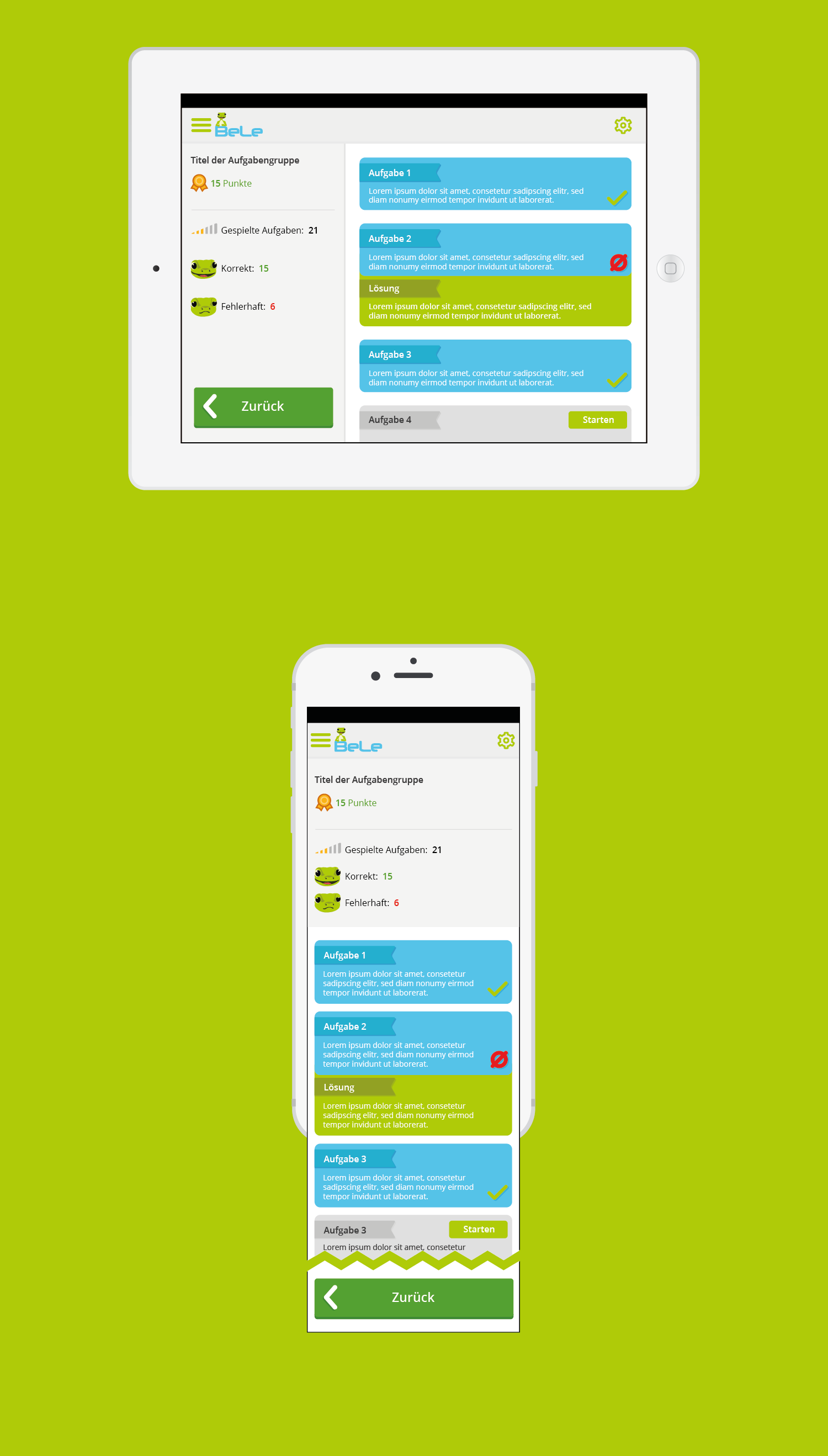 Draft of logos and app layout design of an eleme app for App layout design online