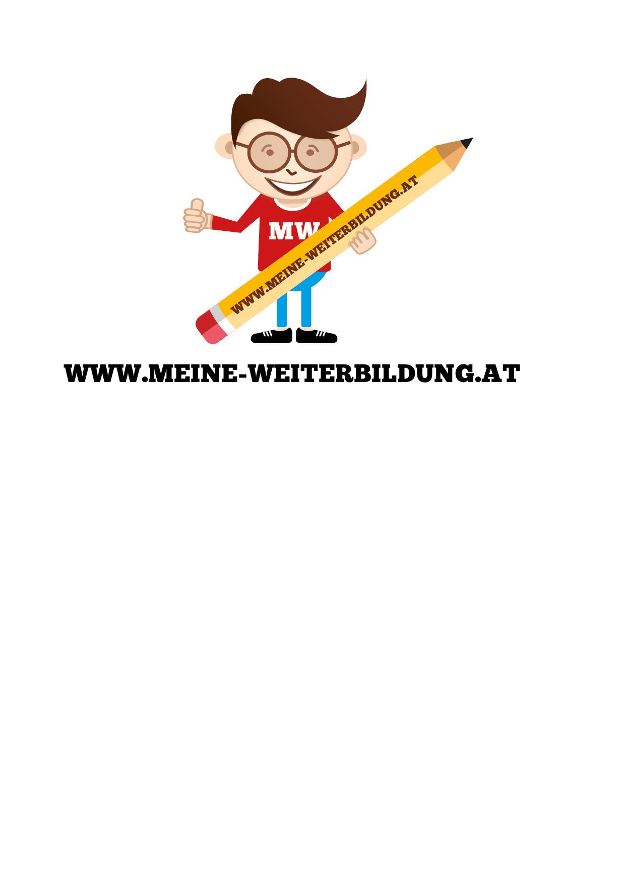 Logo design briefing for Weiterbildung design