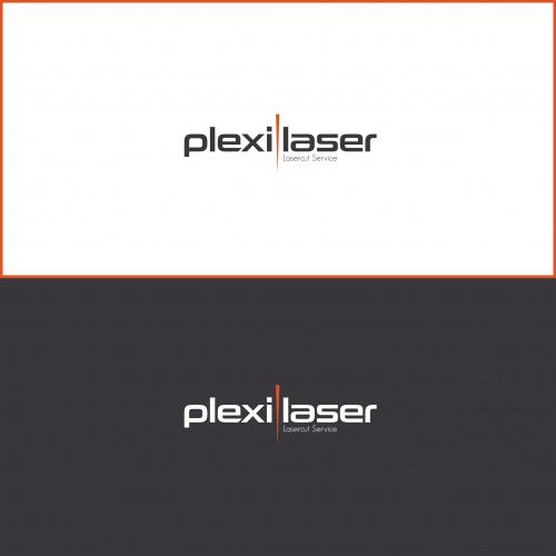Logo-Design für plexilaser.de