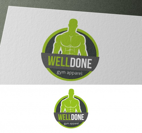 Onlineshop für Fitness-/Bodybuilding-Bekleidung sucht Logo