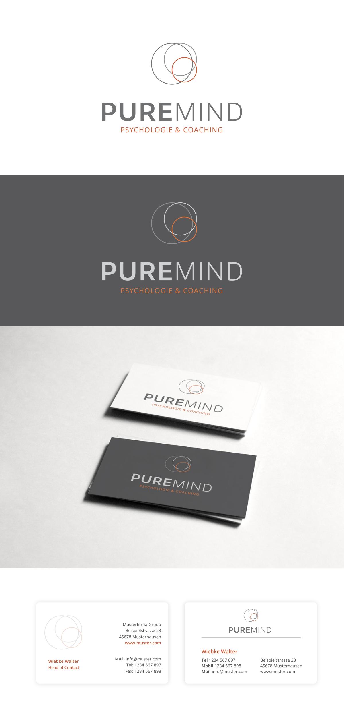 Logo Visitenkarte Für Psychologie Co Logo Business
