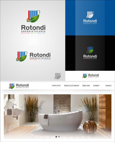 Logo-Design für modernes Energietechnik-Unternehmen (Heizung, erneuerbare Energien etc.)