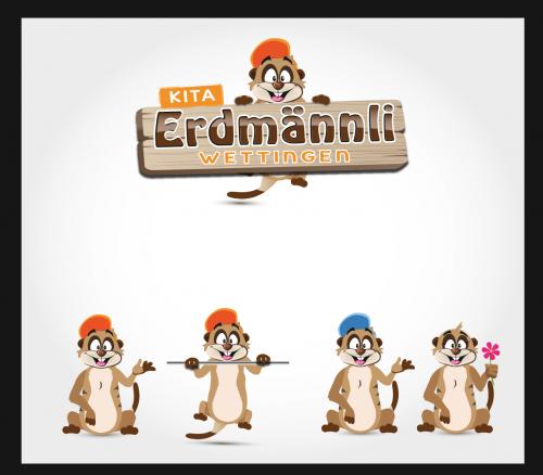 Kinderkrippe Erdmännli sucht ein Maskottchen-Design