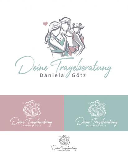 Logo-Design für Tragebetreuung