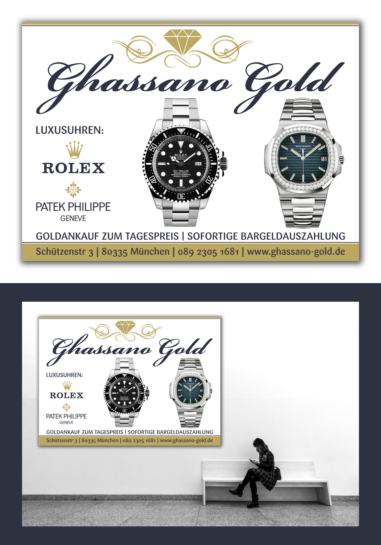 Plakat-Design für Juwelier » poster design » designonclick.com
