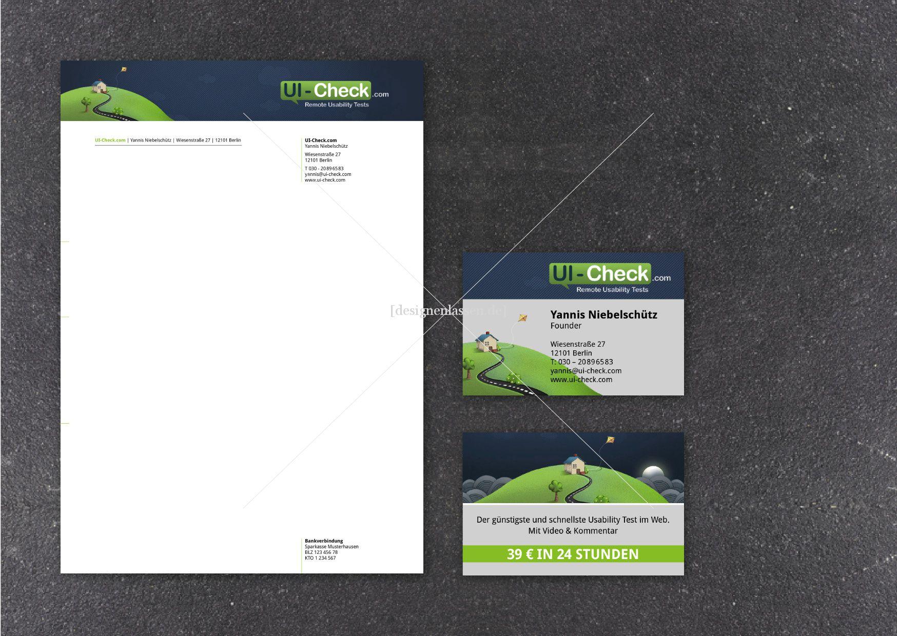 Visiten Karte Designen Visitenkarten Design designenlassen