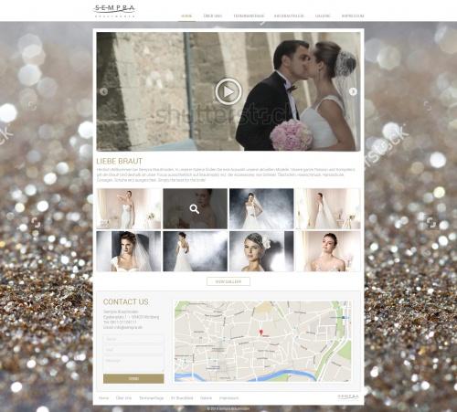 Webdesign Fur Brautmoden Geschaft Einzelhandel Webdesign