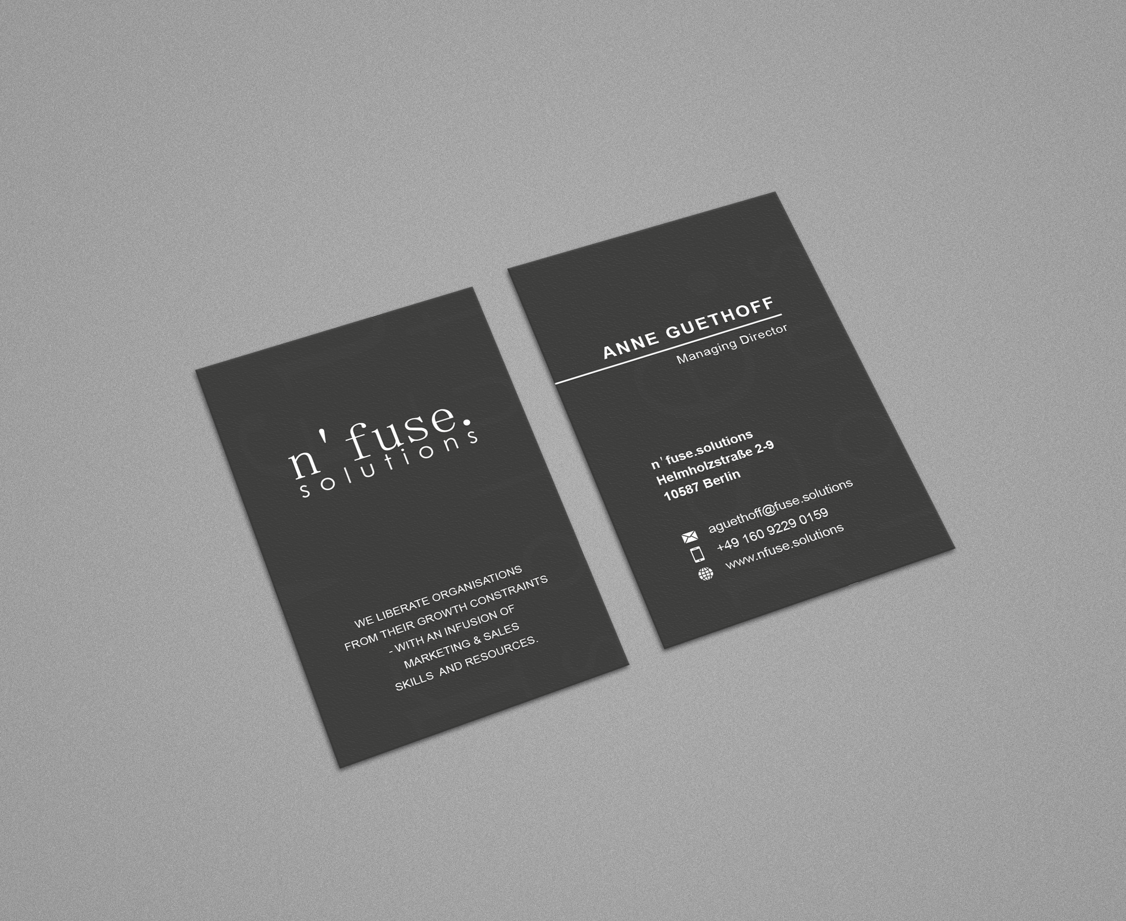 Visitenkarten Design Für Marketing Beratung Business Card