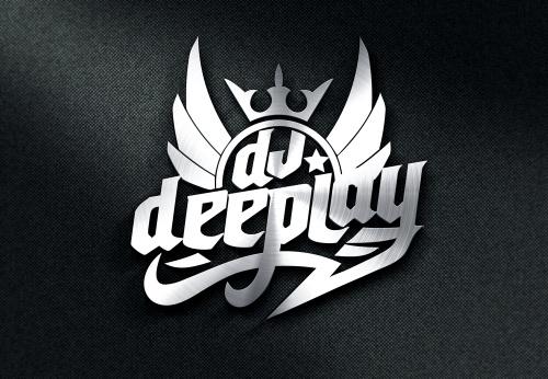 Logo fr einen Disc Jockey - DJ