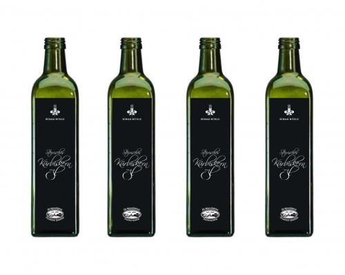 Etikett für Steirisches Kürbiskernöl g.g.A. NEU