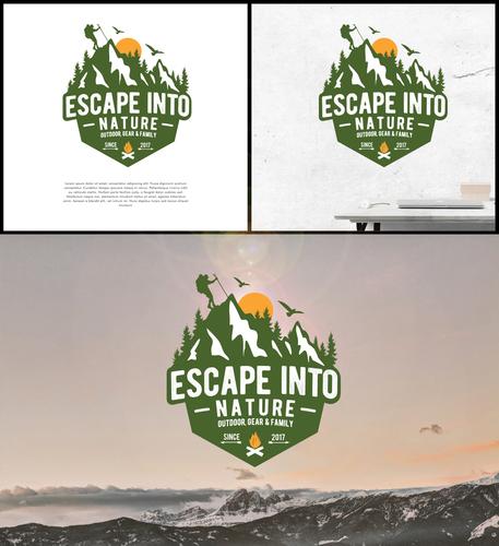 Logo-Design für Outdoor-Unternehmen