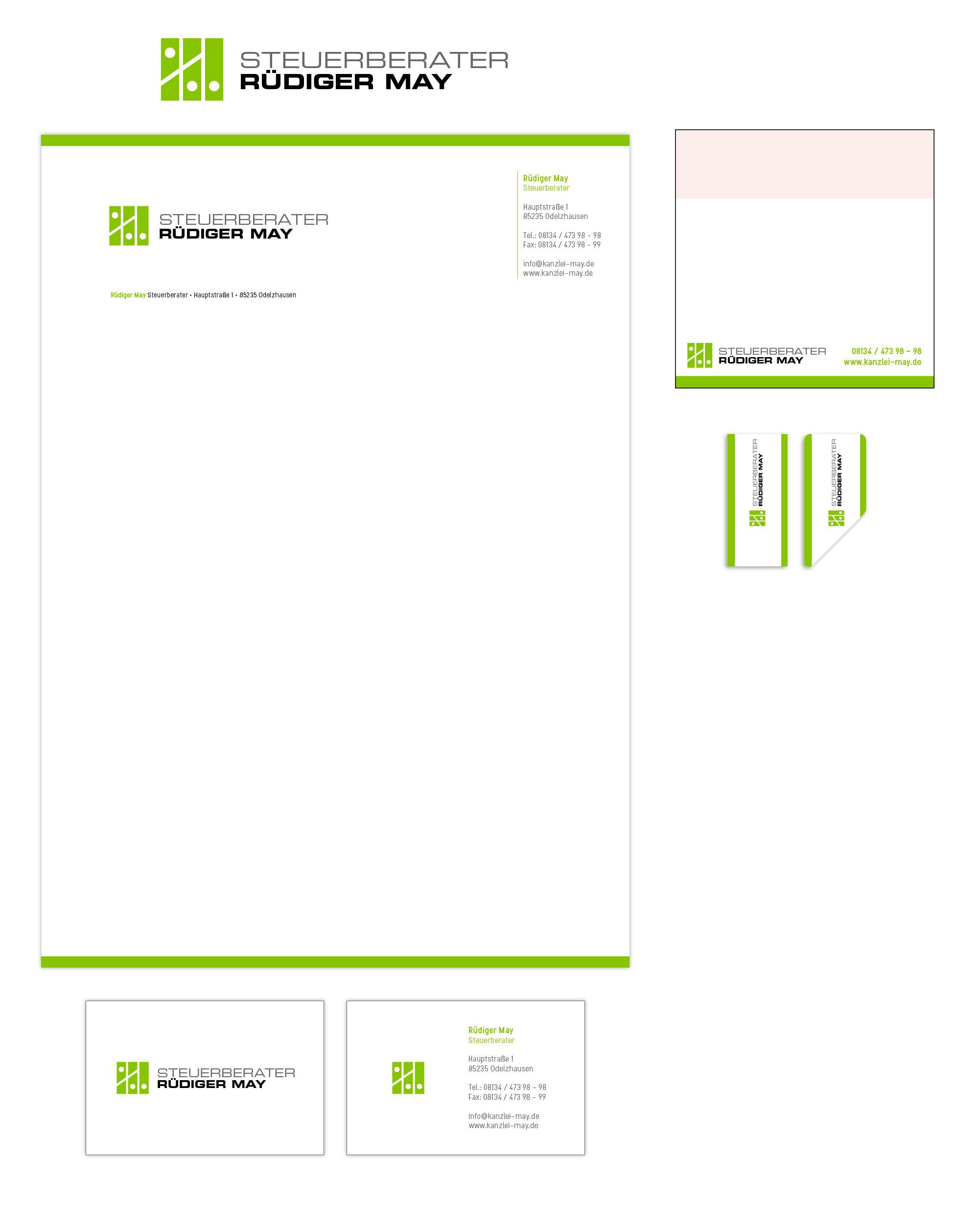 Briefpapier Visitenkarten Bindemappe Brieumsc