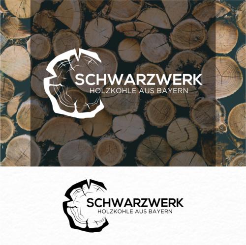 Logo-Design für Online-Verkauf von Holzkohle zum Grillen