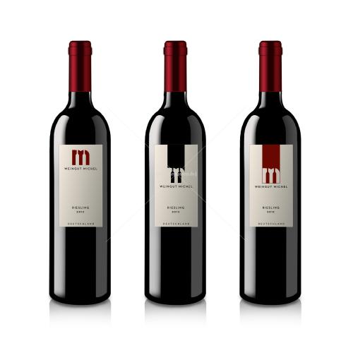Symbol für Weinetiketten