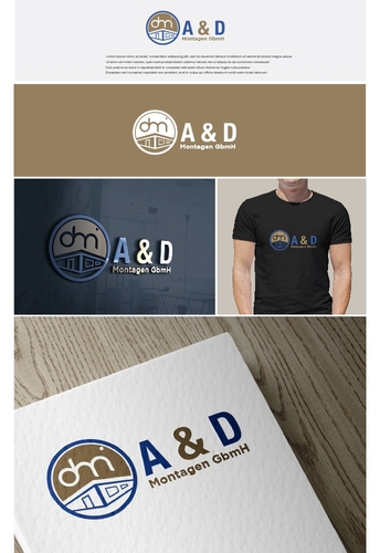 Logo-Design für Baumontage Unternehmen