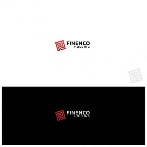Création logo société Holding / Creation logo design for holding company