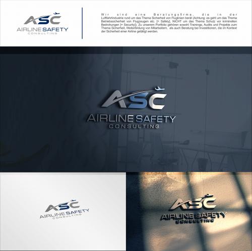 Logo-Design für Beratungsfirma aus der Luftfahrtindustrie