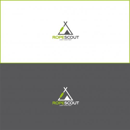 Logo-Design für leuchtenden Clip