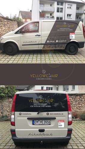 Fahrzeugbeschriftung für den Verkauf von hochwertiger Farbe