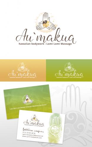 Logo & Visitenkarte für Ganzkörper Wellnessmassage