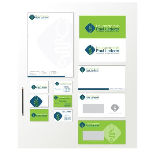 Corporate Design für Facharztpraxis