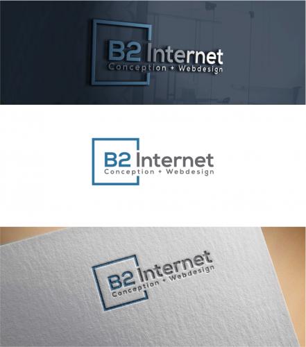 Logo-Design für b2 Internet