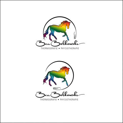 Logo-Design für Pferdethermografie