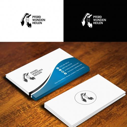 Logo-Design für Behandler von Wunden in Verbindung mit Pferden
