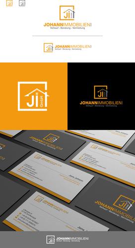 Hochwertiges Logo & Visitenkarten-Design für Immobilienmakler