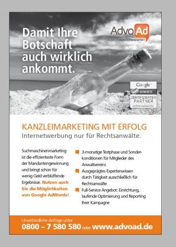 Gestaltung einer Print-Anzeige