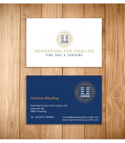 Logo & Visitenkarte für Feng-Shui-Beratungen