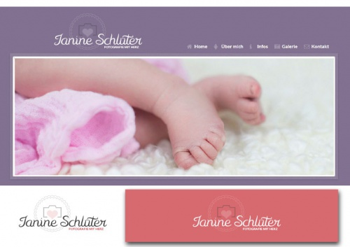 Logo für (Neugeborenen-) Fotografie
