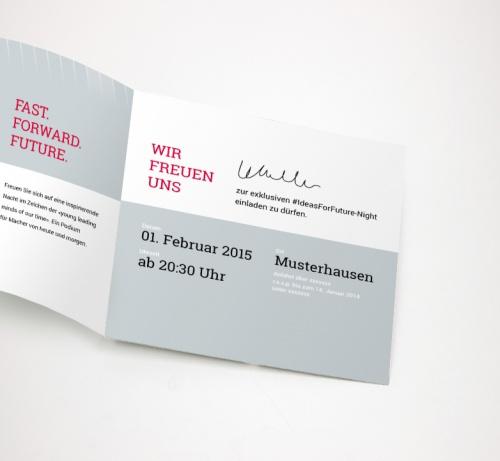 *** Einladungsdesign für Start-up Event gesucht ***