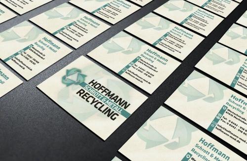 Visitenkarten Design Für Www Hoffmann Mod De Business Card