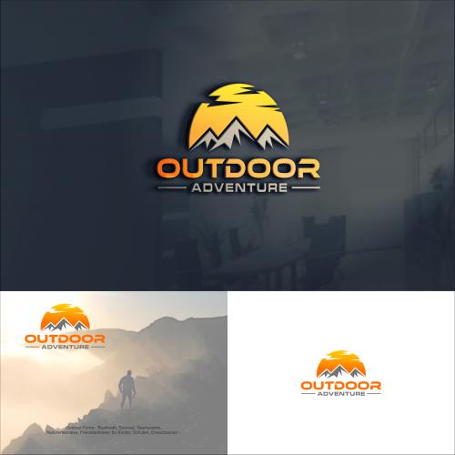 Logo-Design für Outdoor Firma
