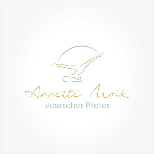 Logo-Design für klassisches Pilates