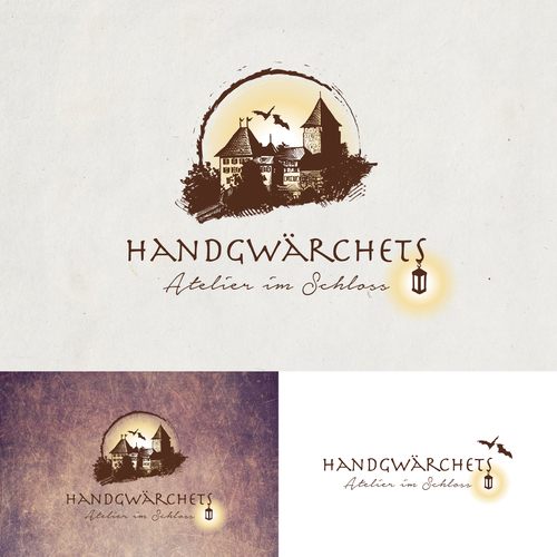 Logo & Visitenkarte für Laternen Atelier
