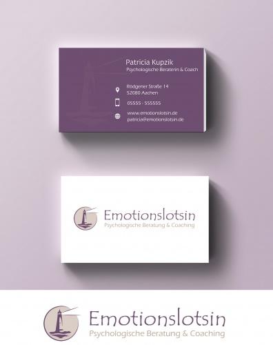 Logo & Visitenkarte für psychologische Beraterin und Coach