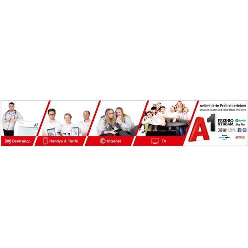 Plakat-Design für einen Netzbetreiber