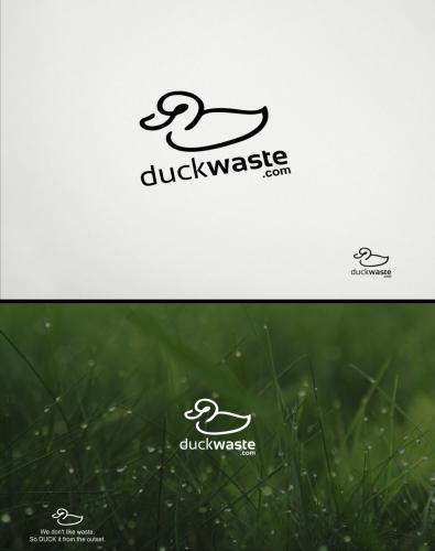 Logo-Design für Aufklärung zum Thema Müllreduktion