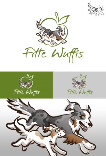 Logo-Design für Fitte Wuffis