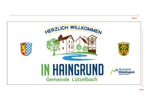 Logo-Design für Ortseingangsschilder