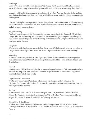 Marketings Texte Für Eine Internetseite Und Bros Design